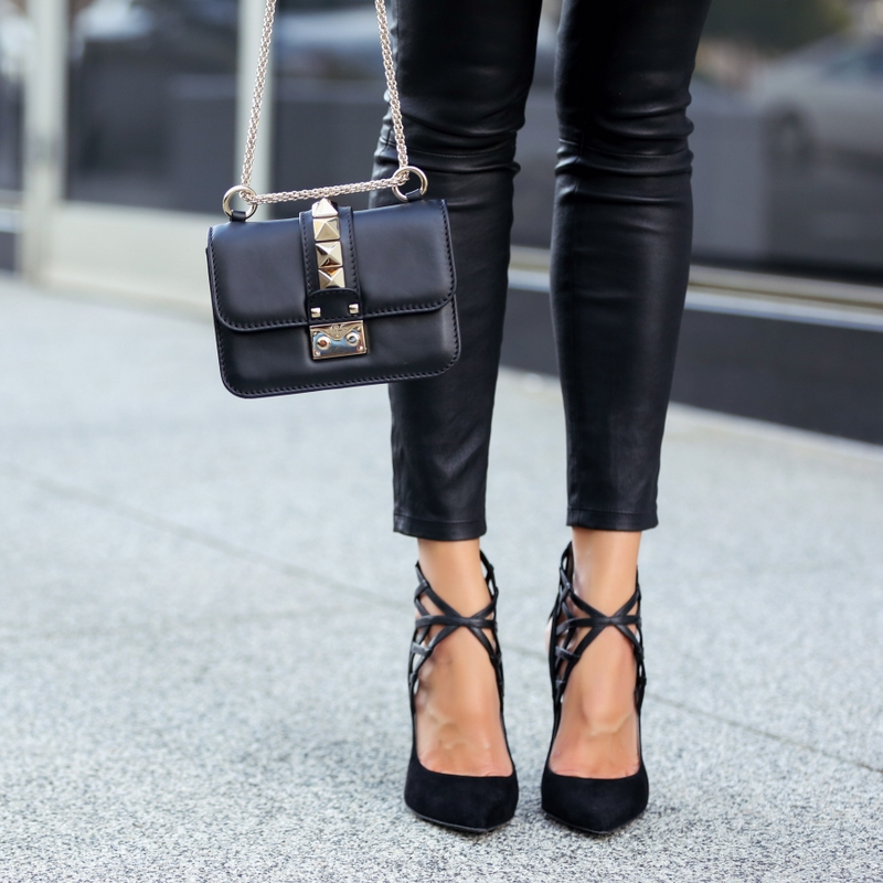 Monika Chiang shoes, Valentino Micro Lock Handbag