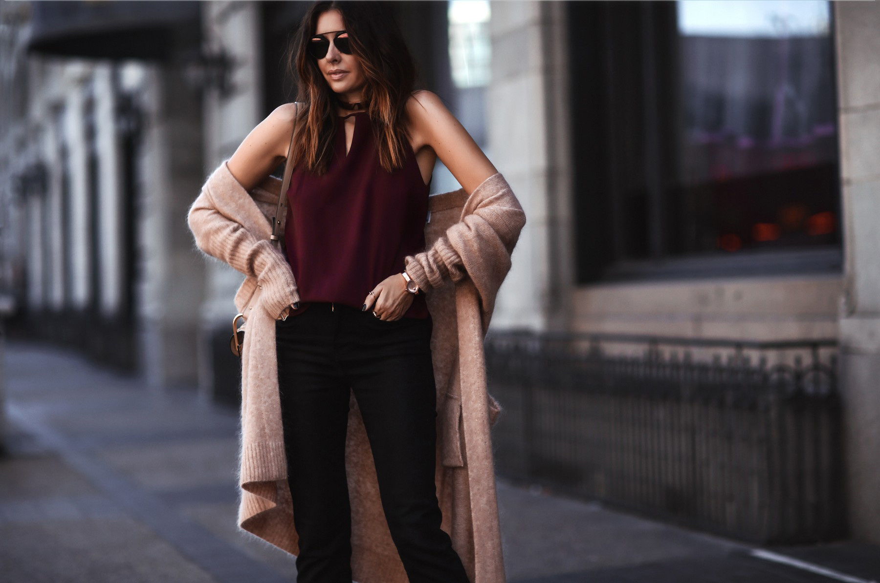 how to style long cardigan