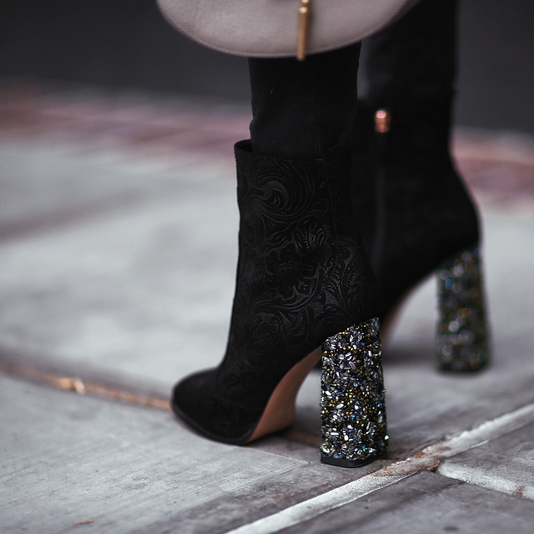 heels with sparkle